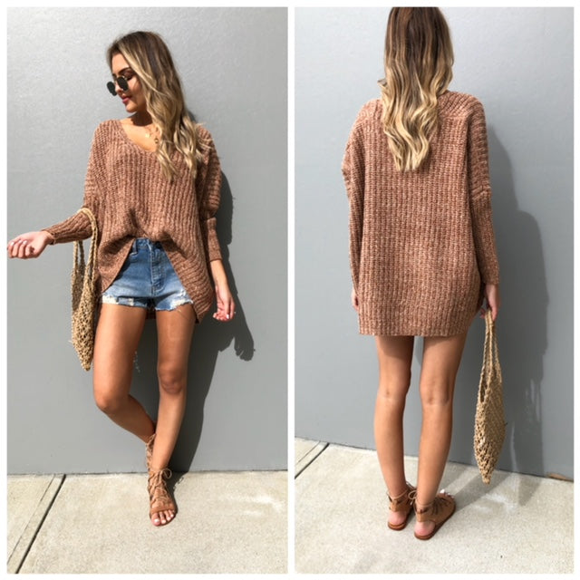teddy oversize knit