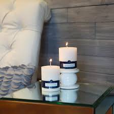 "3"" x 4"" White Pillar Candle - Colonial Candle"