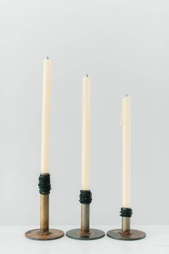 Taper Candle Holder - Prairie Dance