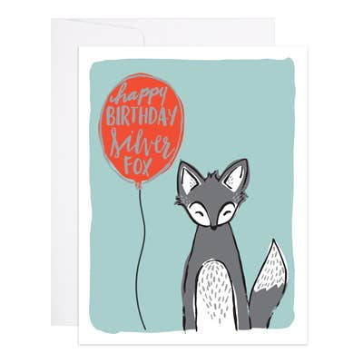 Happy Birthday Silver Fox - 9th Letter Press