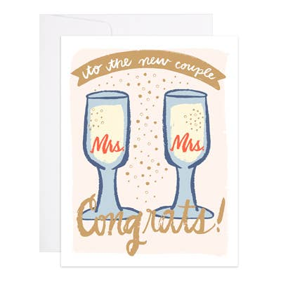 Mrs & Mrs - 9th Letter Press