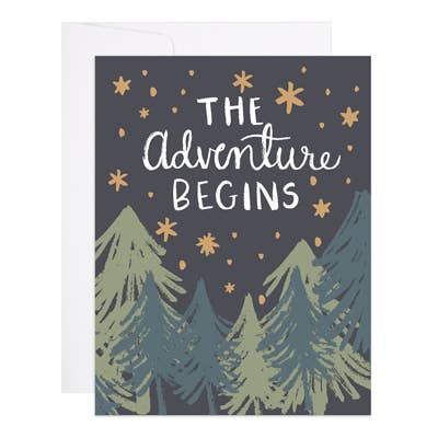 Adventure Begins - 9th Letter Press