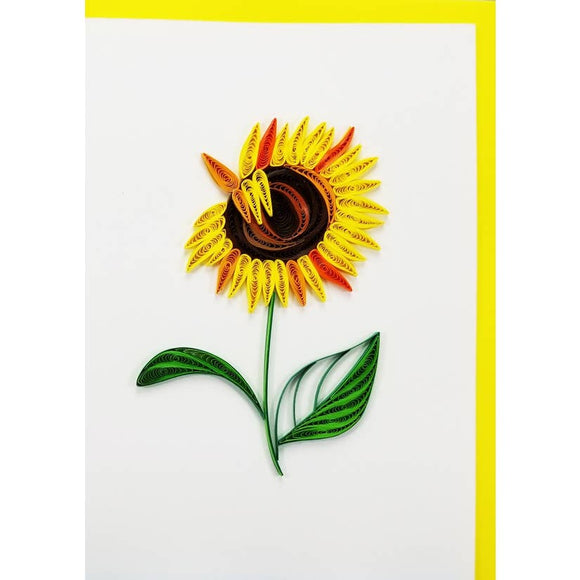 Sunflower - Iconic Quilling