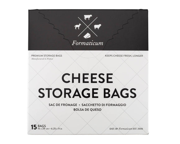 Cheese Storage Bags - Formaticum