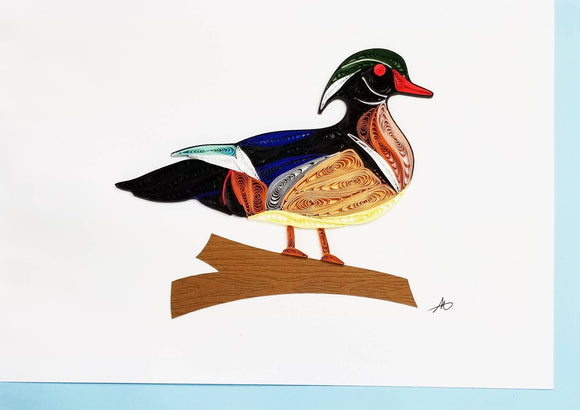 Wood Duck - Iconic Quilling
