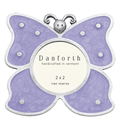 Butterfly/Lavender 2x2 Frame