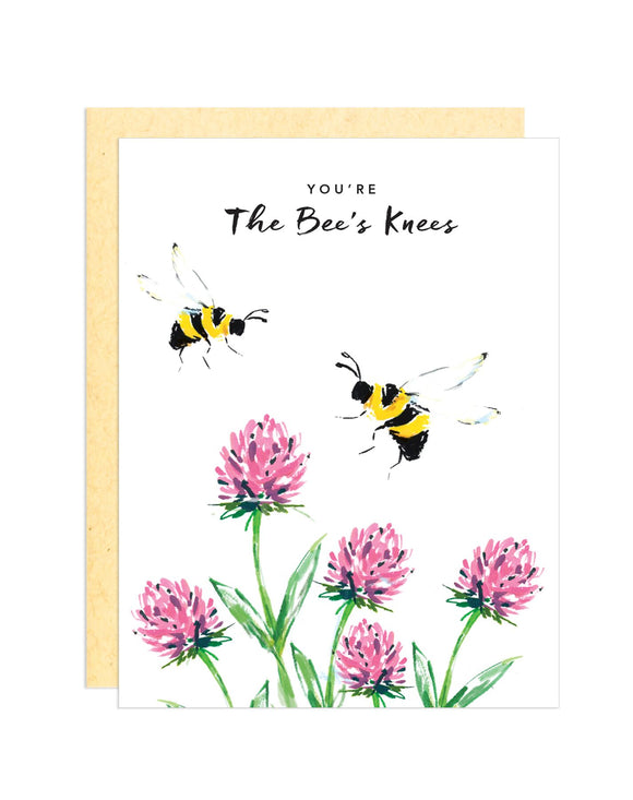 Darling Lemon - You're The Bee's Knees Greeting Card