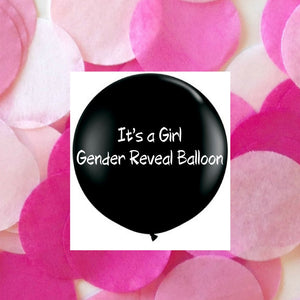 Twigs and Twirls - It's A Girl Balloon