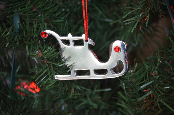 Vibhsa - Sleigh Christmas Tree Ornament 2019 holiday decorations