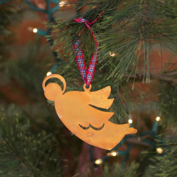 Madeline Angel Ornament - Prairie Dance