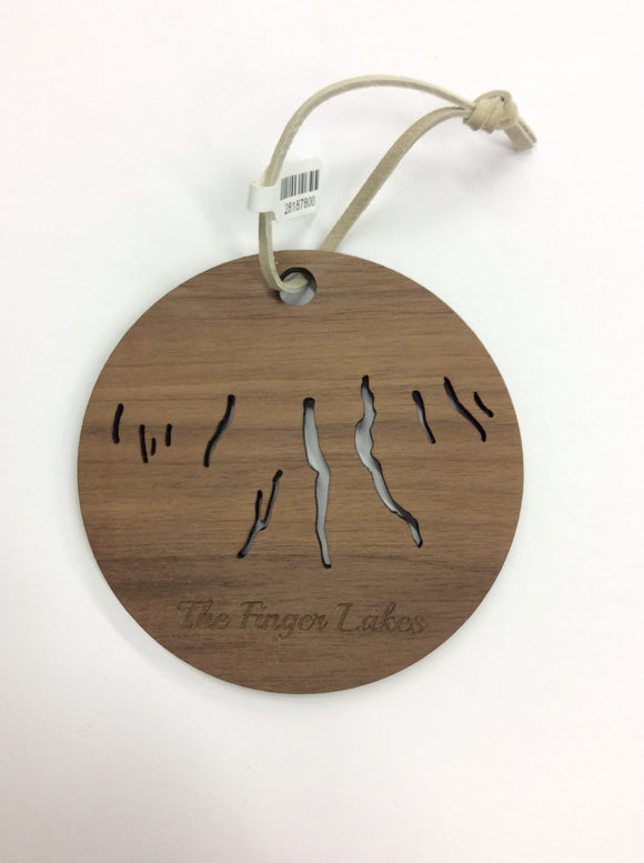 Finger Lakes Ornament | Autumn Summer Co.