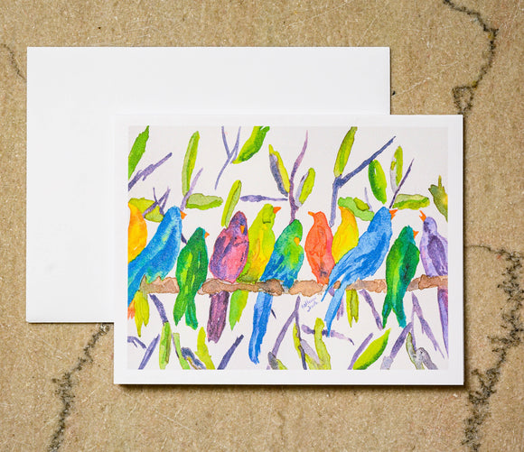 Southern Bird Studio - Birds of a Feather Boxed Note Cards Set