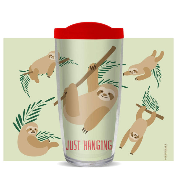 Just Hanging Tumbler - Freeheart