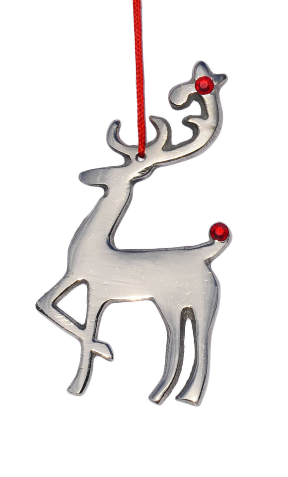 Vibhsa - Deer Christmas Tree Ornaments 2019 Holiday Decorations