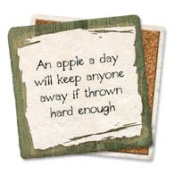 An Apple A Day - Tipsy Coasters & Gifts