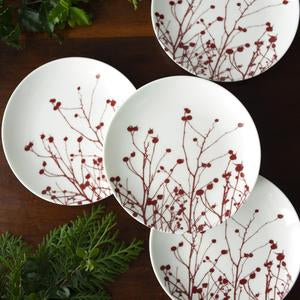 Canapes Set of 4 - Winter Berries