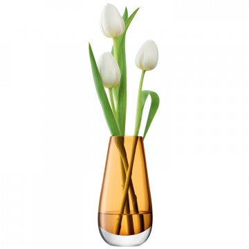 Amber FLOWER COLOUR- Bud Vase
