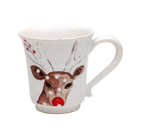White Mug - Deer Friends