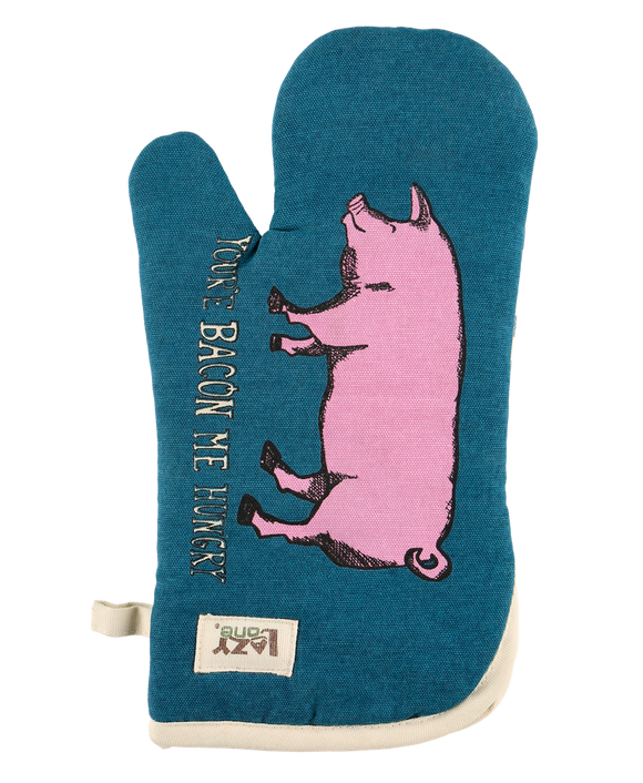 Bacon Me Hungry Oven Mitt