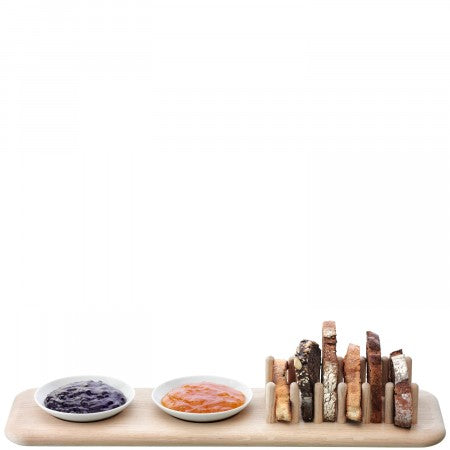 Dine Oak Toast Rack Set