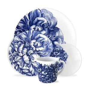 4 Pc Placesetting - Peony Blue