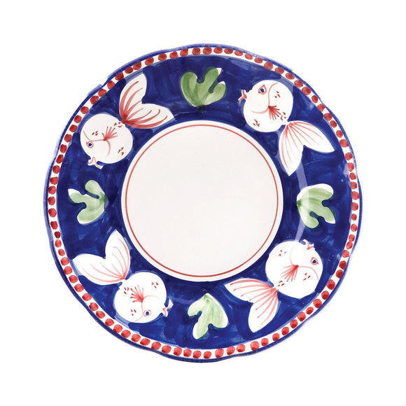 Pesce Dinner Plate - Campagna