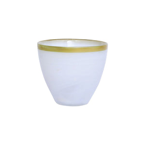 Votive Gold and Alabaster - Rufolo Glass