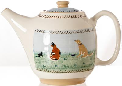 Asso Oval Teapot