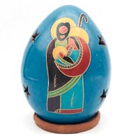 Women of the Cloud Forest - Nativity Luminary with Holy Family