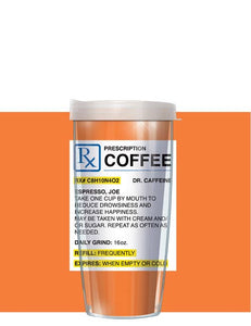 Coffee Prescription Tumbler - Freeheart