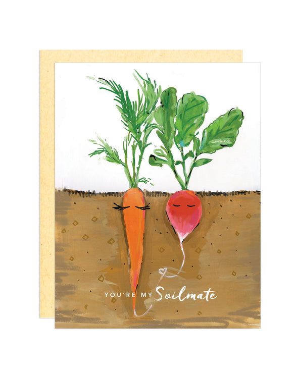 Darling Lemon - You're My Soilmate Greeting Card