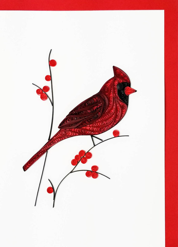 Iconic Quilling - Cardinal