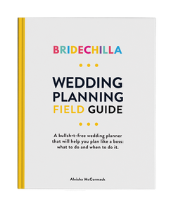 Bridechilla - Bridechilla Wedding Planning Field Guide - Aubergine