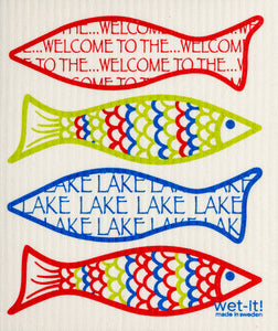 Welcome to the Lake Swedish Cloth - Wet-it!