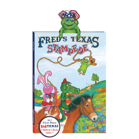 Apple Pie Publishing - Fred's Texas Stampede Book - Aubergine