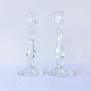 "Crystal 7 1/2"" Candlestick"