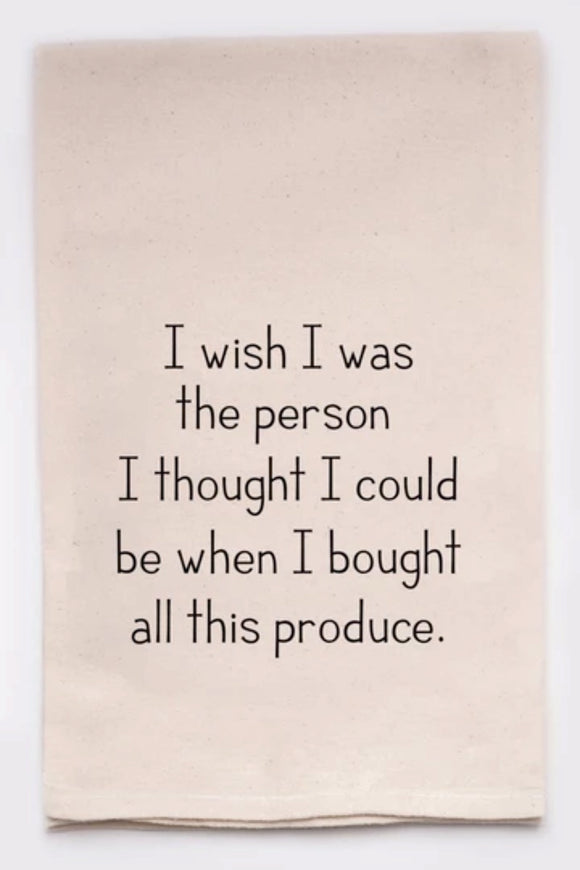 Produce Person - Tea Towel