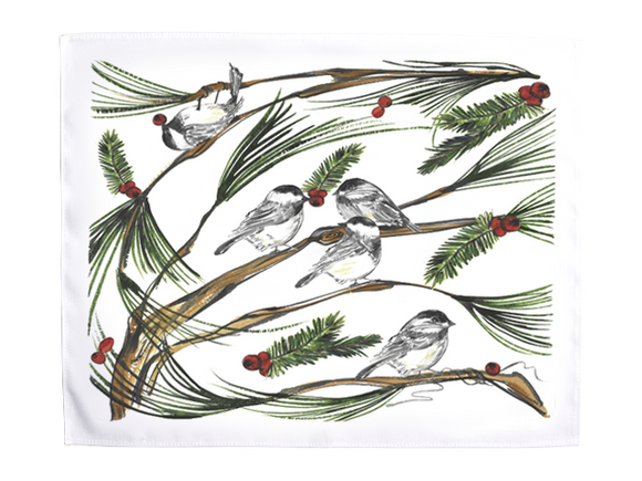 Placemats Chickadee Clay Born