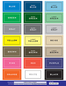 COLORS in English labels (CLR01EN)