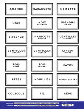 Load image into Gallery viewer, FRENCH pantry set