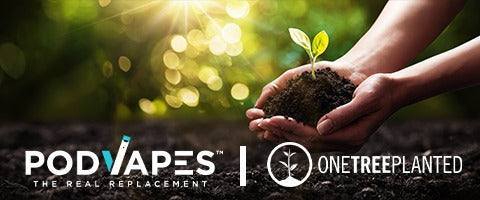PodVapes Plants Over 8,000 Trees!