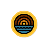 "Aaron Draplin ""Waves"" Patch"