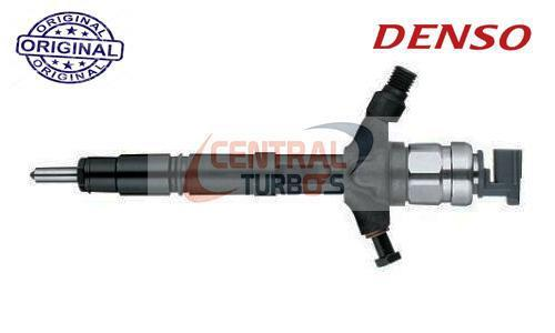 Inyector Genuino Denso Mitsubishi New L200 / Fiat Fullback 2.4D 4N15 E6 295050-1760 1465A439 - CentralTurbos
