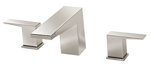 Danze D300962PNVT Mid-Town Two Handle Roman Tub Trim Kit, Polished Nickel