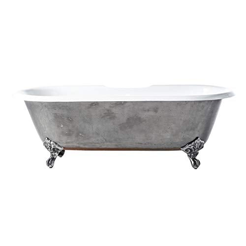 "Barclay Doyle 67"" CI Tub W/O Holes,FEET"