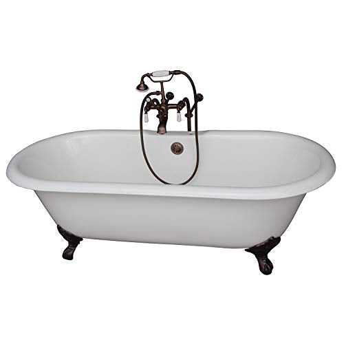 "Tub Kit 61""CI,Double Roll Top"