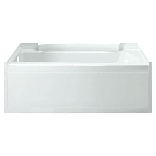STERLING 71161110-0 Accord 5-Feet Left Drain Soaking Tub in White
