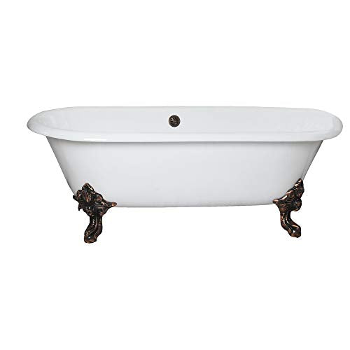 "Barclay Gallagher CI 72"" Dbl Roll Tub"