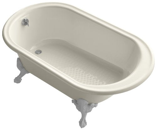 Kohler K-710-A-47 Iron Works Historic Bath with Almond Exterior, Almond