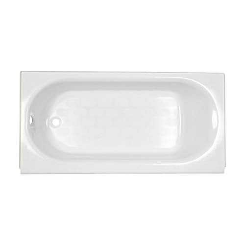 American Standard 2390.202ICH.020 Princeton Recess 5 Feet Left-hand Bathtub with Integral Overflow, White